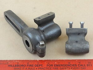 Nice Orig South Bend 9 Lathe Model C Lead Screw Banjo Bushing Bracket Set 2
