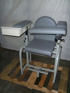 Lab X Phlebotomy Chair With Wide Drawer Blood Draw Drawing