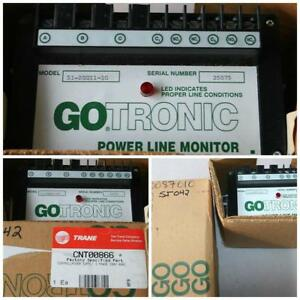 New Trane Cnt00866 Control Power Line Monitor 3 Phase 200v Gotronic 51 20011 10