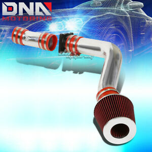 Cold Air Intake Aluminum Induction red Cone Filter For 02 06 Altima maxima 3 5