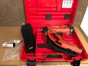 Perfect Hilti Gx 3 X m40 G3 Gas actuated Nail Gun W Case