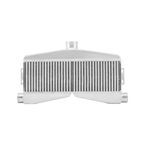 Cxracing Universal 2 In 1 Out Twin Turbo Intercooler 3 5 Thick Core