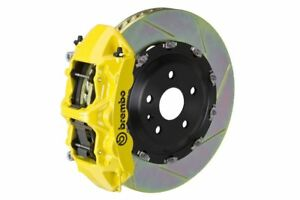 Brembo Gt Brake Kit Front 380mm 2 Pc Slotted 6 Piston Yellow S3 8p 2006 2012