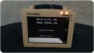 Welch Allyn Propaq 246 Multi parameter Vital Signs Patient Monitor 156608