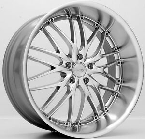 19 Mrr Gt1 Wheels For Lexus Is250 Gs350 Gs450 Staggered 19x8 5 19x9 5 Rims Set