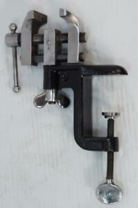 Beautiful Starrett Micro Toolmakers Watchmakers Bench Vise Vice Usa Made