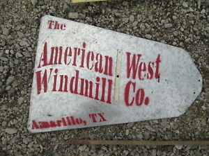 6ft American West Windmill X 702 Vane Nos