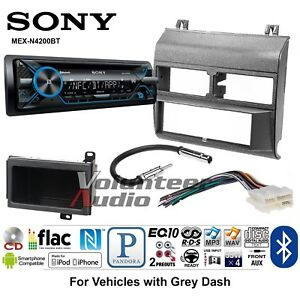 Sony Mex N4200bt Car Stereo Radio Bluetooth Pandora Cd Dash Install Mount Kit