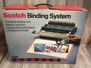 Scotch Personal Desktop Professional Report Binding System 7890