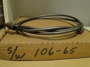 1931 46 Ford Chrysler Dodge Plymouth Hudson Ihc Speedometer Cable Nos Sw 106 65