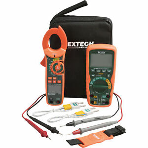 Extech Instruments Industrial Dmm clamp Meter Test Kit Ma620 k ma620 k