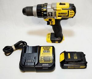 Dewalt Dcd985 1 2 Cordless Hammer Drill With Battery And Charger 20923 1