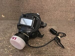 3m 7800s Full Silicone Facepiece Small Respirator W W3266 Motor Blower Assembly