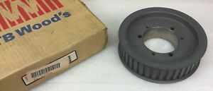 Tb Woods Model 40h150sk 50t Timing Belt Pulley 3960 Max Rpm New In Box