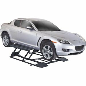 Free Shipping Bend Pak Portable Low Rise Vehicle Lift 6000 Lb Cap 5175728
