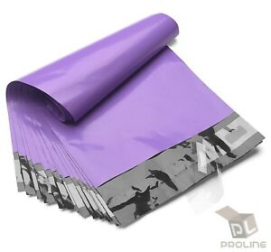 1000 Poly Mailers 10x13 Shipping Bags Plastic Packaging Mailing Envelope Purple