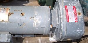 Dayton Reducer A2719a With A Ge 1 Hp Motor