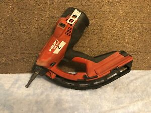 lotc Used Hilti Gx 120 Gm40 Gas Powered Actuated Nail Gun Fastening Tool