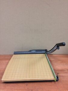 Swingline Classic Cut Paper Cutter 18 Used Working Free Shipping Great Deal