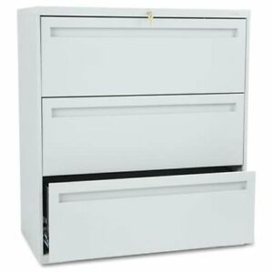Hon 700 Series Full pull Locking Lateral File 36 X 19 3 X 40 9 Steel 3