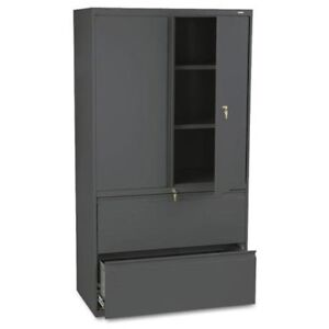Hon 800 Series Wide Lateral File With Storage Cabinet 36 X 19 3 X 885lss
