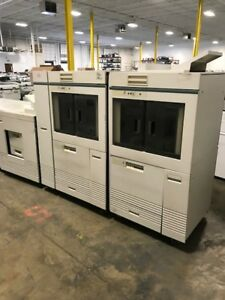 Xerox Docuprint 180mx W 2x Stakers Print Controller Hard Meter 608 252 tn