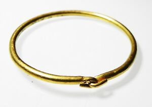 Zurqieh As6654 Extremly Rare Ancient Ptolemaic Gold Bracelet 300 B C