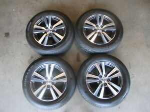 Four 2016 2018 Honda Pilot Factory 18 Wheels Tires Oem Rims 64088 Ridgeline