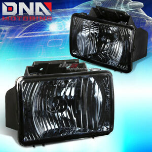 Smoked Tinted Oe Bumper Fog Light Lamp Kit For 04 12 Chevy Colorado gmc Canyon