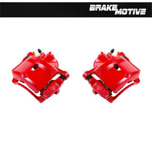 Front Red Brake Calipers For 1998 1999 2000 2001 2002 Honda Accord Dx Ex Lx Se