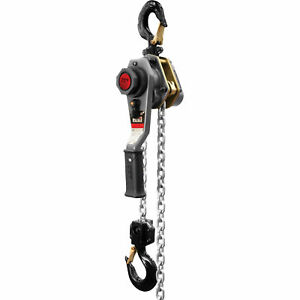 Jet Lever Hoist 1 1 2 ton Capacity 15ft Lift Model Lh 150wo 15