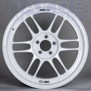 Enkei Rpf1 Wheels 17x9 5x100 35 Offset White Single Rim For Wrx Brz Frs