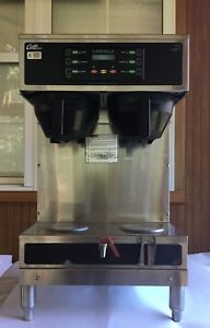 Curtis Gemini Gemts Twin Dual 1 5 Gallon Coffee Brewer Gemts10a1021 220v