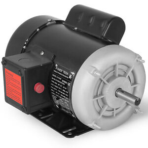 Electric Motor 1 2 Hp 1750 Rpm 115 Volts 56 Frame Single phase Tefc