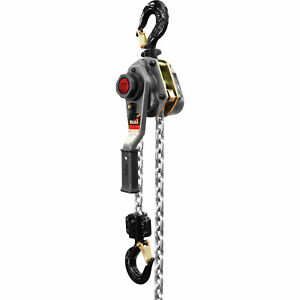 Jet Lever Hoist 2 1 2 ton Capacity 20ft Lift Model Jlh 250wo 20