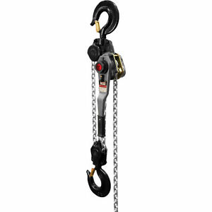 Jet Lever Hoist 9 ton Capacity 10ft Lift Model Jlh 900wo 10