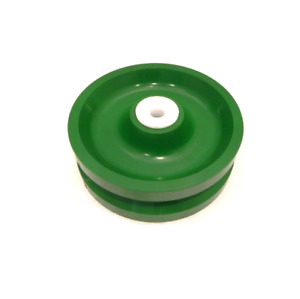 Solid Polyurethane V groove Wheel 6 X 2 With 1 2 Id Wet Environment Bearing