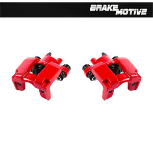 Rear Red Powder Coated Brake Calipers For Ford Explorer Jeep Wrangler Liberty