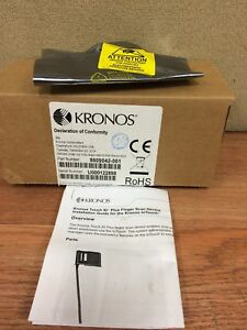 Brand New Kronos 9000 Touch Id Plus H3 Intouch Biometric Reader 8609042 001