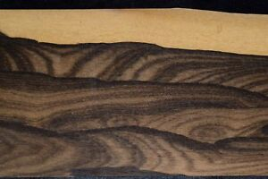 Ziricote Raw Wood Veneer 8 Sheets At 4 5 X 39 Inches 1 42nd E4711 38