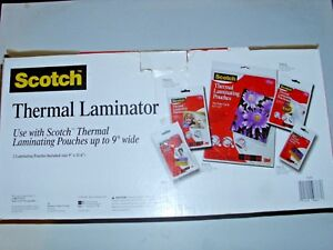 Scotch Professional Quality Thermal Laminator Tl901 New In Box