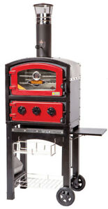 Fornetto Wood Fired Oven And Smoker Red
