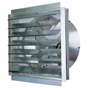 Maxxaire Exhaust Fan With Shutter 30in if30