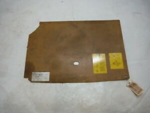 1993 Geo Metro Lsi Convertible A t Spare Tire Cover Panel Oem