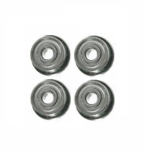Four Flanged Ball Bearings 1 2 Id X 1 1 8 Od X 3 8 Thick Acor