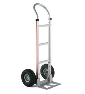 Magliner Hand Truck With Loop Handle 14 Nose 10 Pneumatic Tire 500 Cap