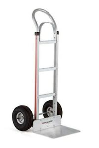 Magliner Aluminum Meat Packers Hand Truck 112 k1 1060 Large Nose stair Glides