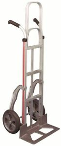 Magliner Hand Truck Double Grip Handle 18 Nose 10 Balloon Tire Stair Glides