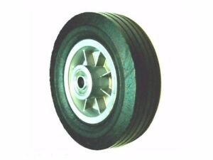 Semi pneumatic 8 X 2 5 Rubber Hand Truck Tire With Offset Hub 5 8 Id Bearing