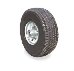 New Tubed Pneumatic Air Tire 10 X 3 1 2 Hand Truck Or Cart Wheel 3 4 Bearing